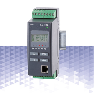 P30O – LCD Pulse/Frequency/Turns/Operation Time Transducer with Etherne