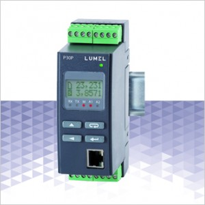 P30P – LCD Transducer 1 Phase Power Network with Ethernet