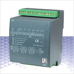 P43 – Programmable 3 Phase Power Transducer