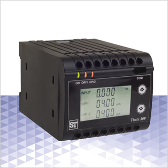 Theta 30P – LCD Power/Phase Angle/Power Factor Transducer